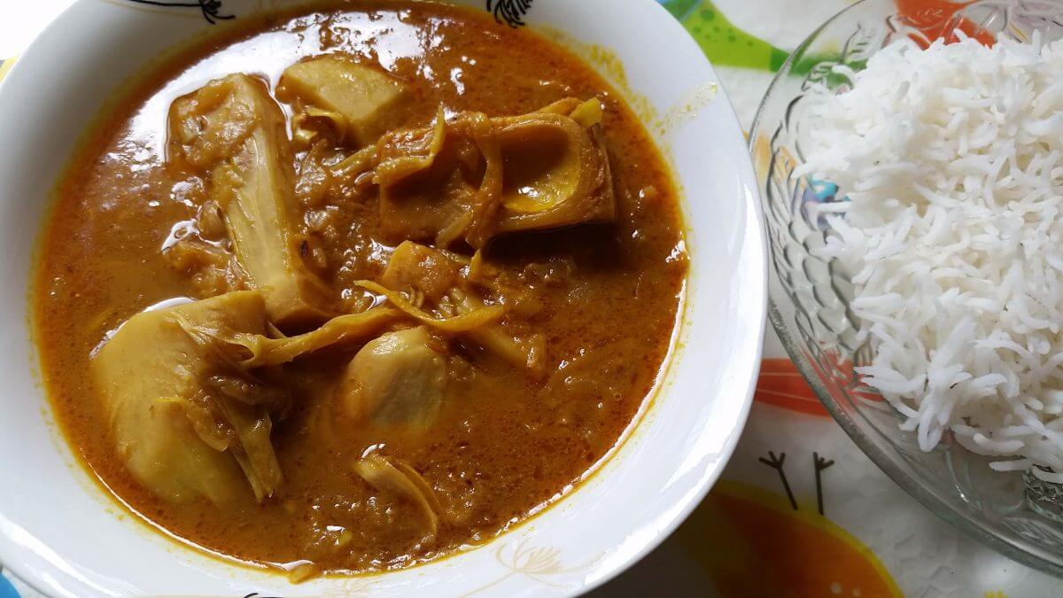 Kathal Curry | Jackfruit Curry Recipe